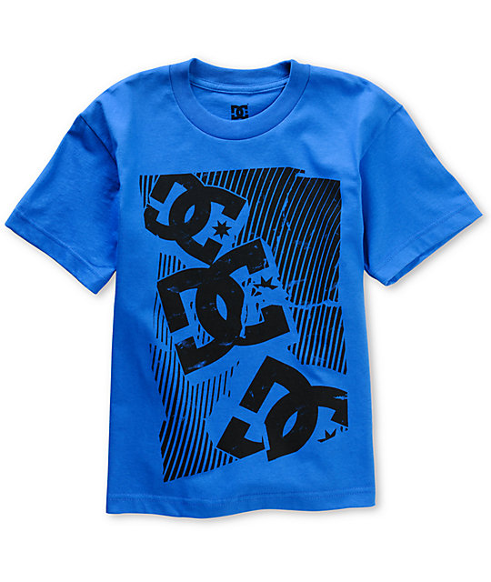 DC Shmoo Boys Blue Skate T-Shirt