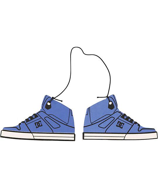 DC Shoe Blue & Black Air Freshener