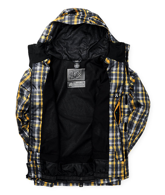 DC Shoes Amo Plaid Snowboard Jacket