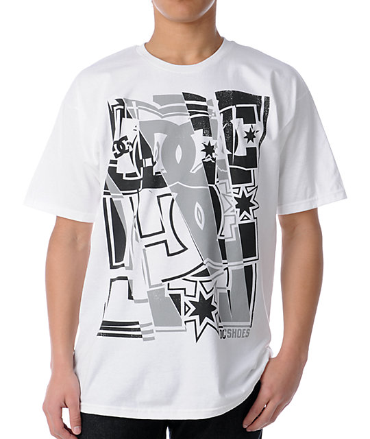 DC Shoes Boxy White T-Shirt