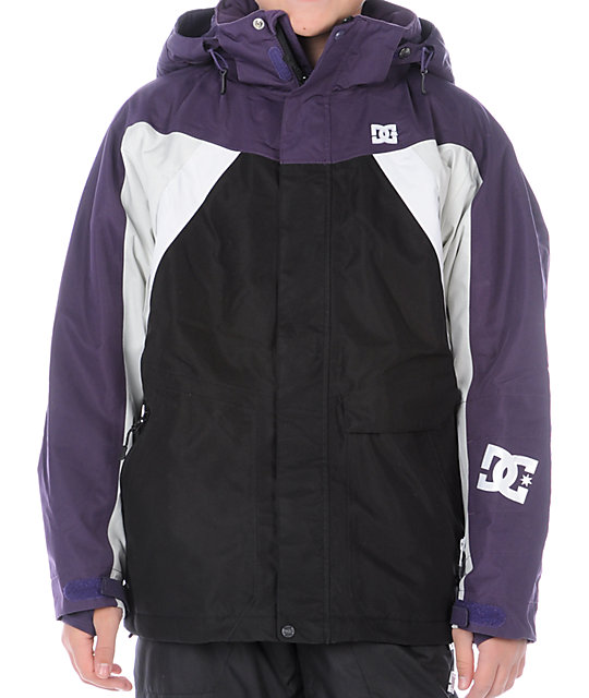 DC Shoes Boys Helix Black Snowboard Jacket
