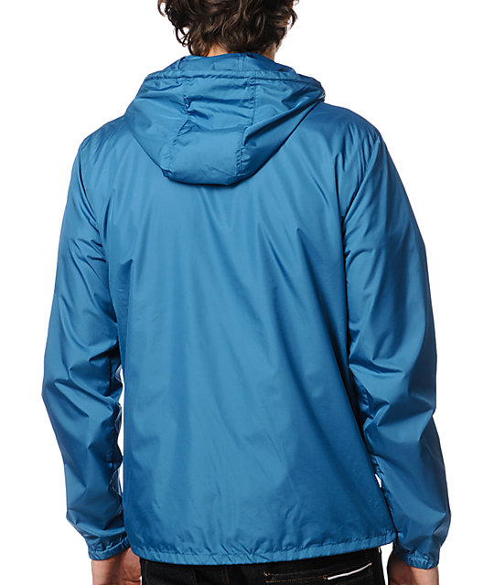 DC Shoes Cambria Blue Windbreaker Jacket