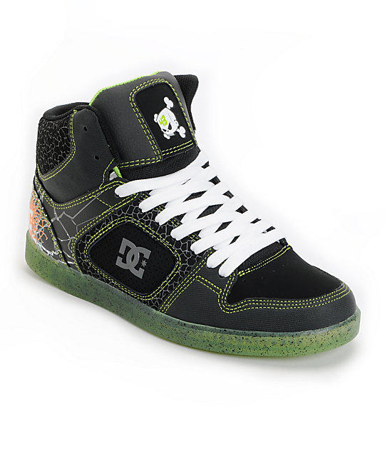 dc shoes ken block union hi se shoes at zumiez pdp. Black Bedroom Furniture Sets. Home Design Ideas