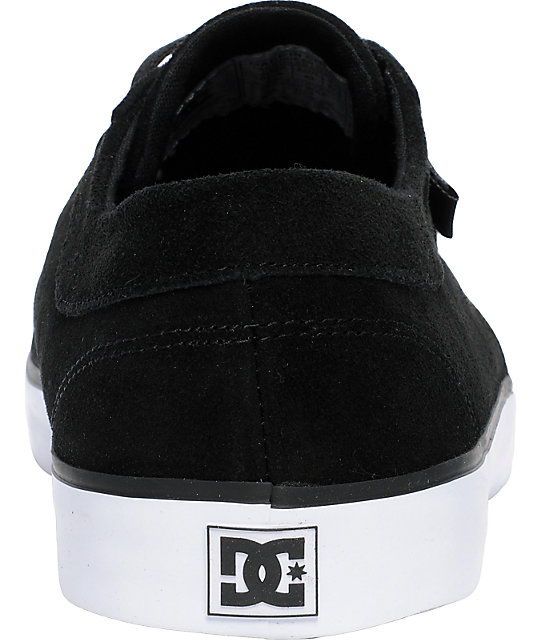 DC Shoes Standard Black & White Slippers