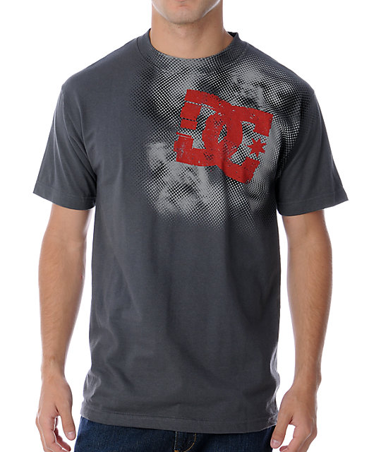 DC Sideview Charcoal T-Shirt
