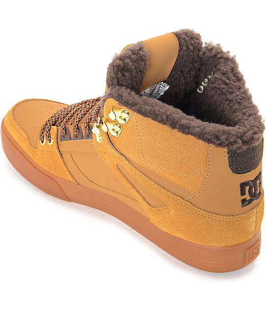 DC Spartan High Winter Wheat & Gum Shoes