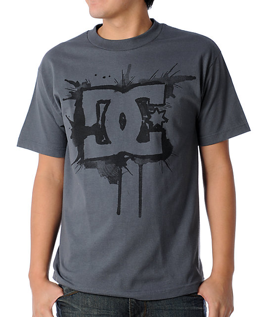DC Splish Charcoal T-Shirt
