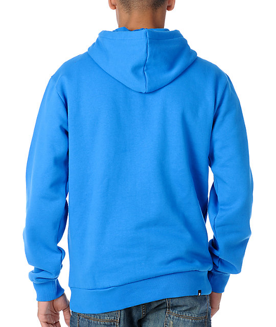 DC Star Ph1 Mens Blue Pullover Hoodie