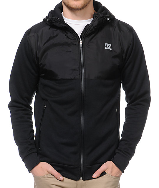 DC Submerged Black Water Resistant Tech Fleece