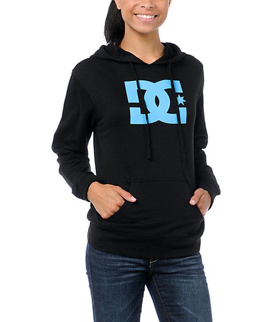 DC T-Star Black Pullover Hoodie