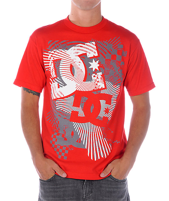 DC Take Down Red T-Shirt