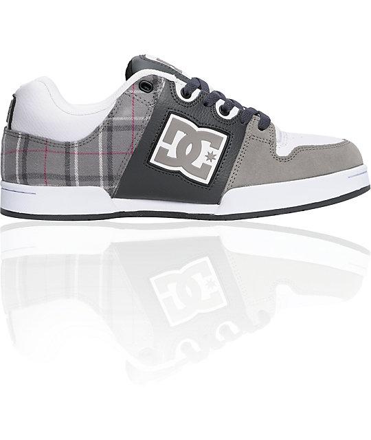 DC Turbo 2 Dark Shadow & Plaid Shoes