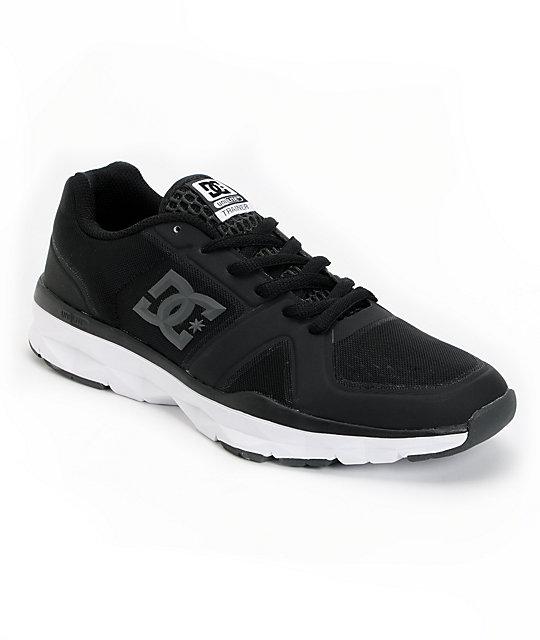 DC Unilite Trainer Black & Grey Shoes
