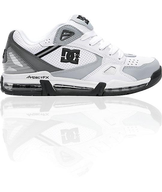 DC Versaflex White & Armor Shoes