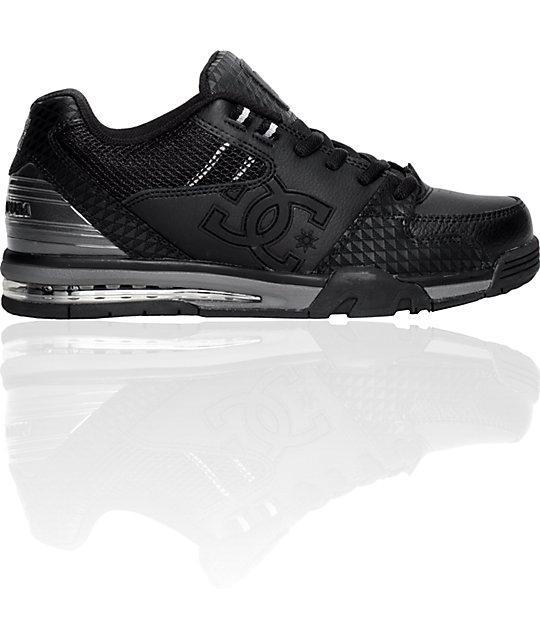 DC Versatile Black, Black & Grey Shoes