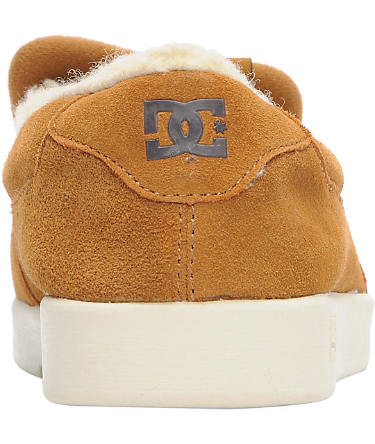 DC Villain Dark Copper & Turtledove Slippers
