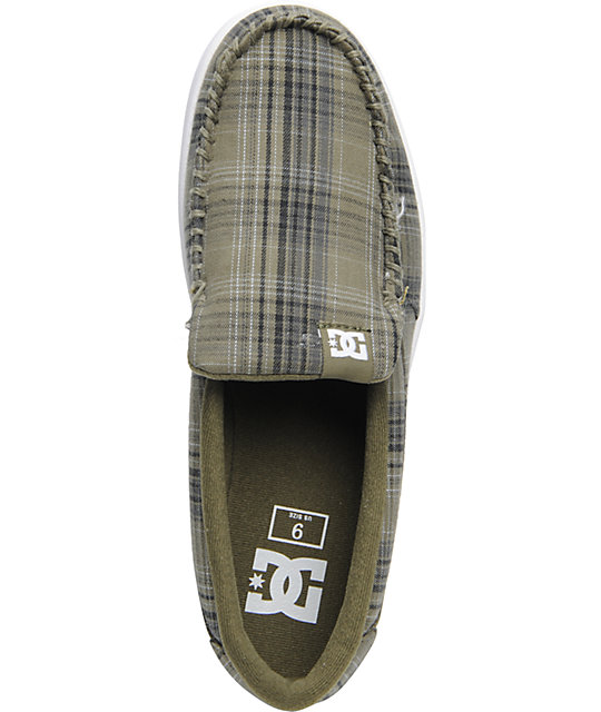 DC Villain Military Plaid Slippers