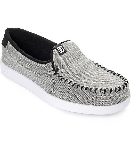 DC Villain TX zapatos grises