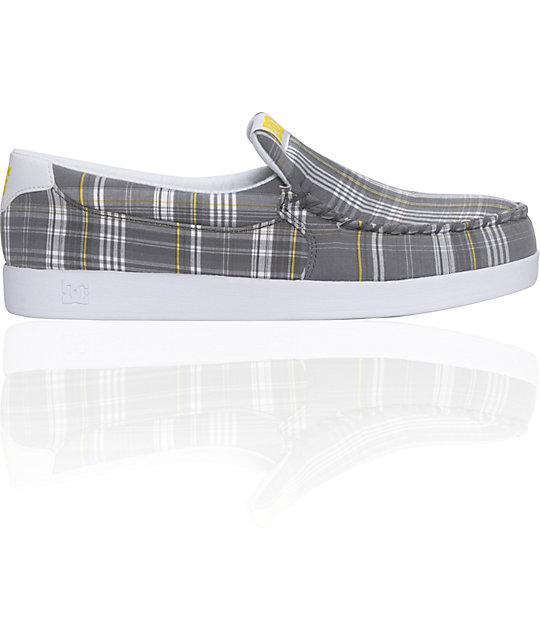 DC Villain White & Grey Slippers