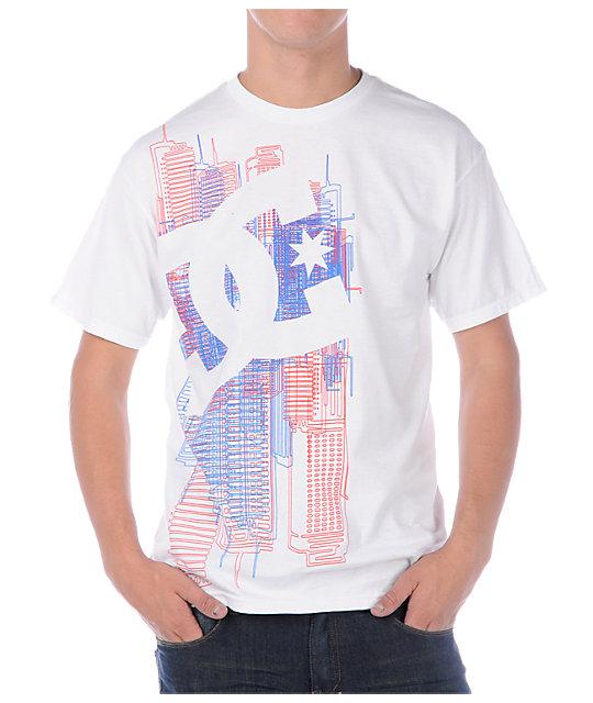 DC We Built This City White T-Shirt