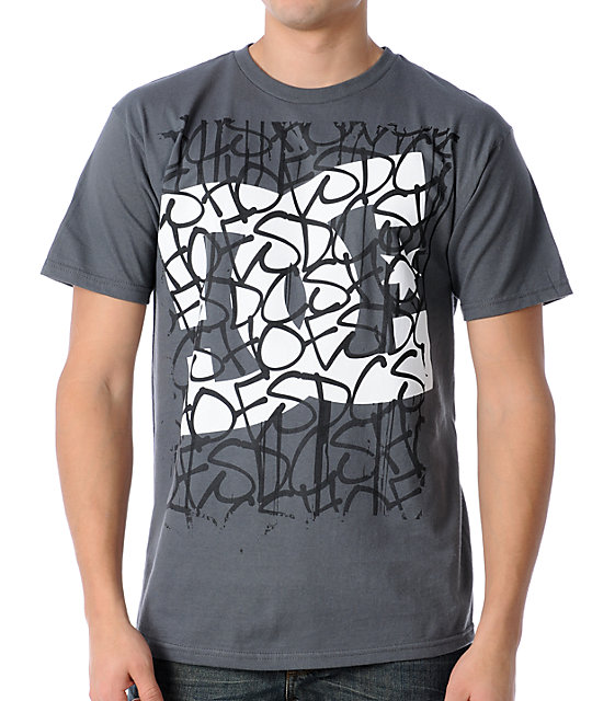 DC Window View Charcoal T-Shirt