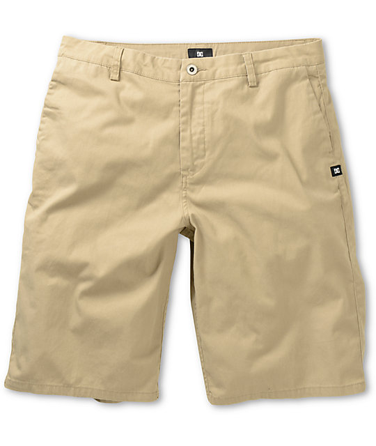 DC Worker Khaki Chino Shorts at Zumiez : PDP