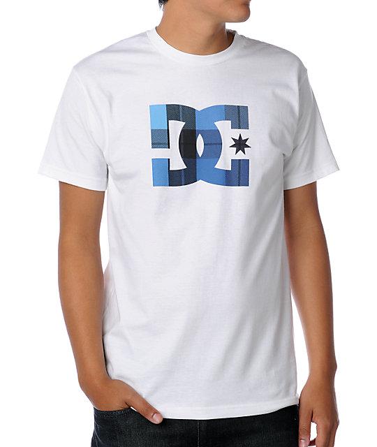 DC Wovy White T-Shirt