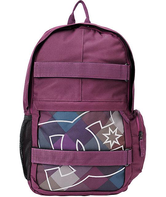 DC Wylie Purple Laptop Backpack