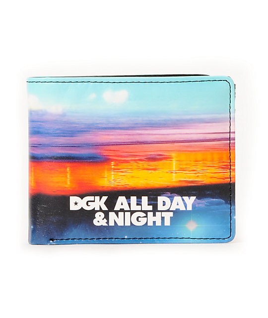 DGK All Day & Night Bifold Wallet