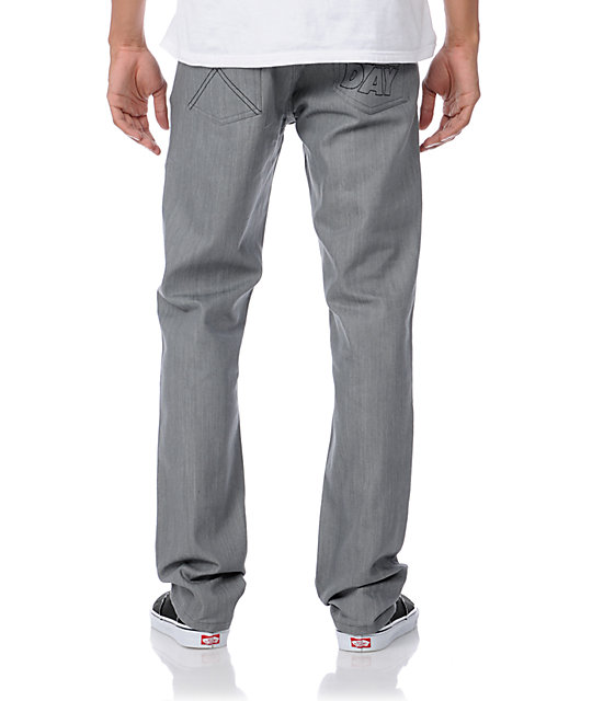 DGK All Day 2 Grey Relaxed Fit Jeans
