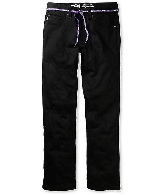 DGK All Day 4 Black Regular Fit Jeans