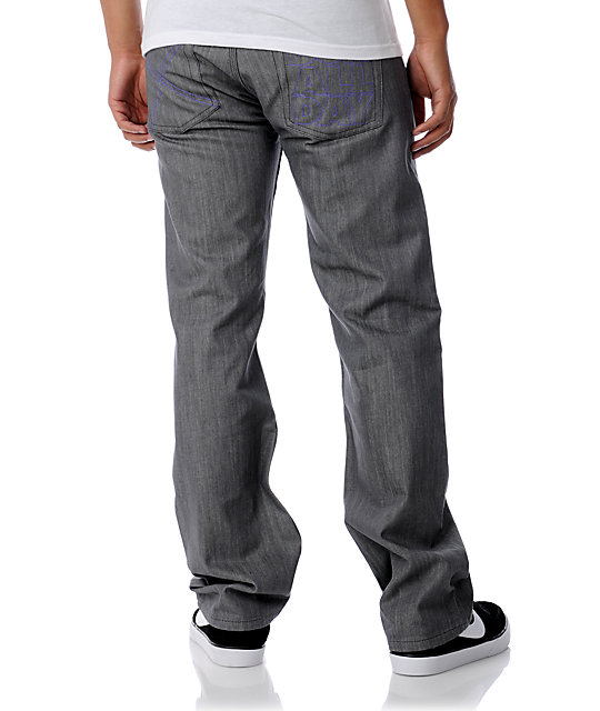DGK All Day Grey Regular Fit Jeans