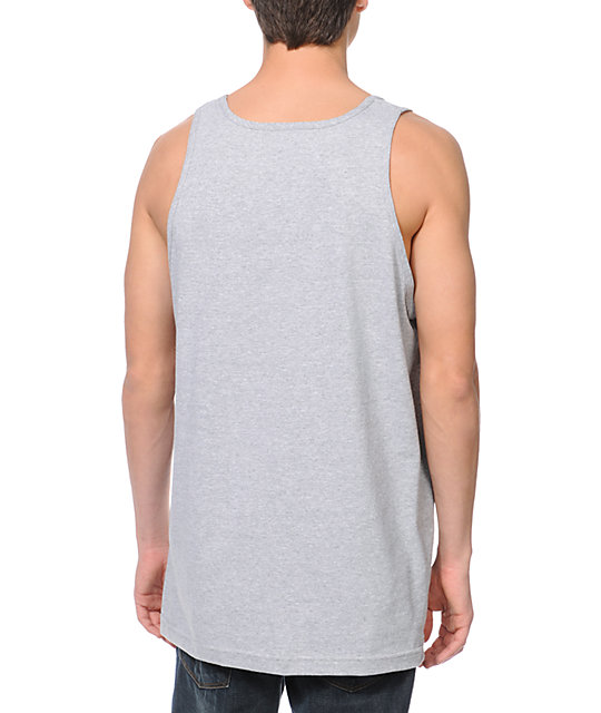 DGK All Day Nite Life Heather Grey Tank Top