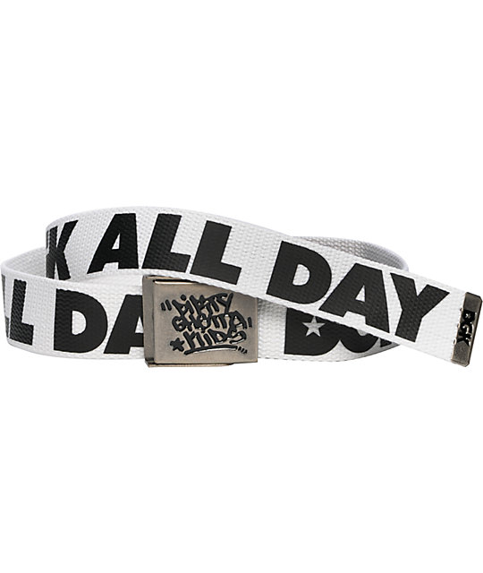 DGK All Day Scout White & Black Belt