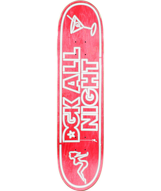 "DGK All Night 7.9""  Skateboard Deck"
