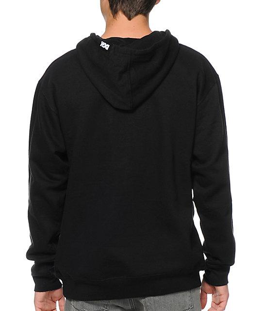 DGK All Night Black Pullover Hoodie   Zumiez