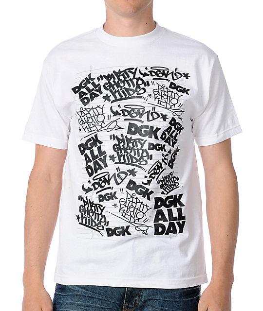 DGK Black Box White T-Shirt