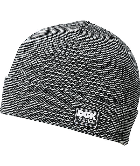 DGK Blends Black Cuff Beanie