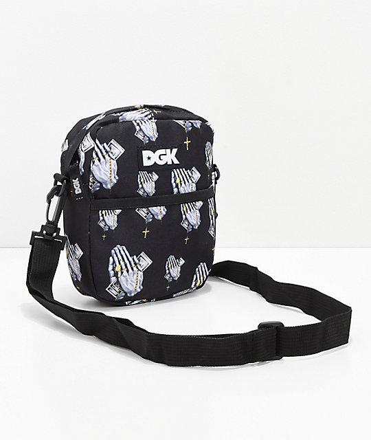 Dgk Blessed Black Shoulder Bag by Dgk