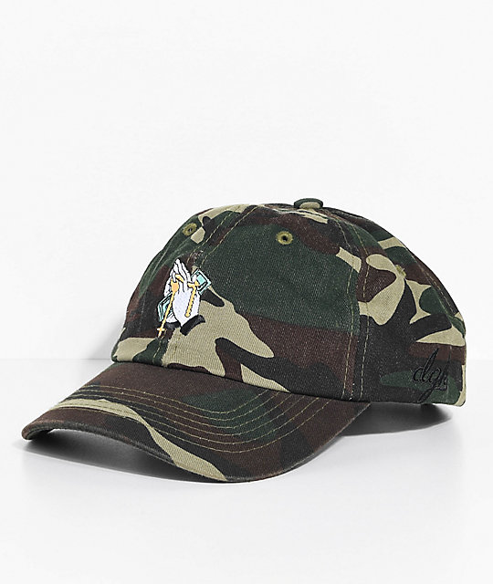 DGK Blessed Camo Strapback Hat
