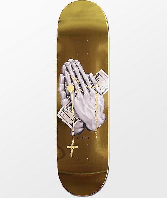 "DGK Blessed Gold Foil 8.0"" Skateboard Deck"