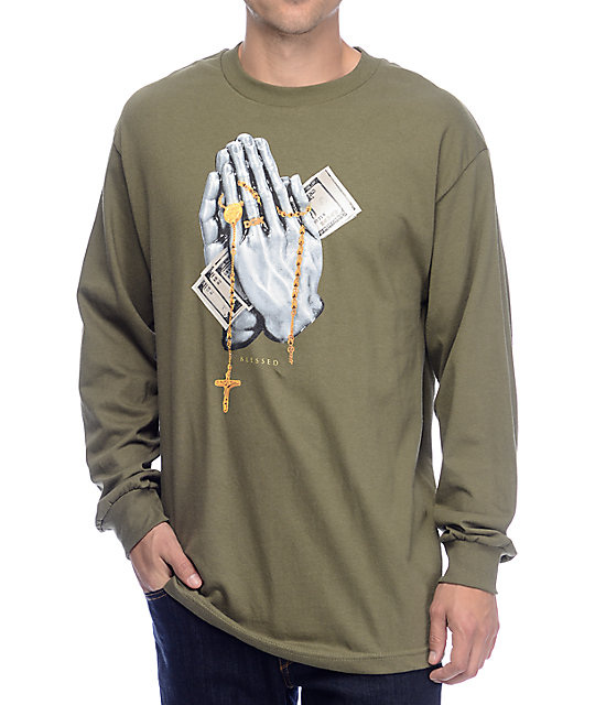 DGK Blessed Olive Long Sleeve Shirt