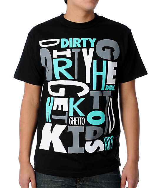 DGK Block Black T-Shirt