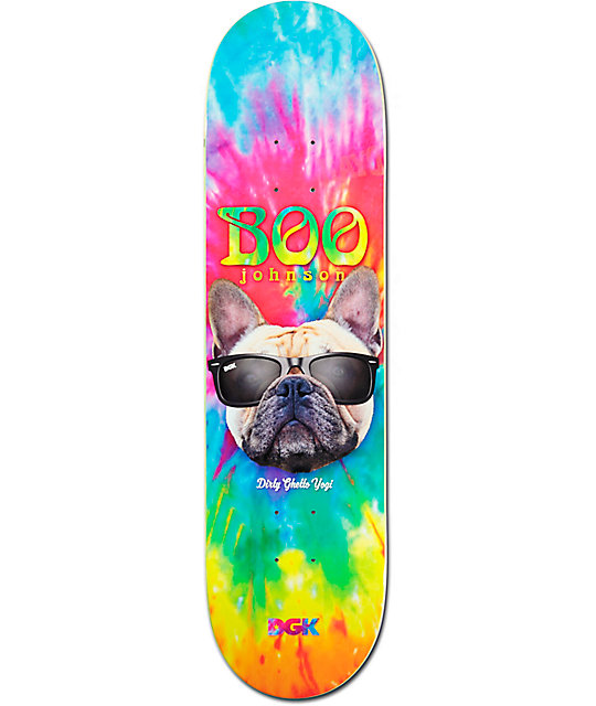 "DGK Boo Yogi 8.10"" Skateboard Deck"