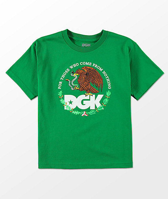 DGK Boys Familia Green T-Shirt