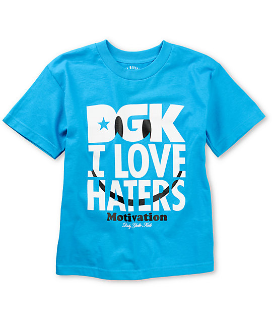 DGK Boys Smiley Turquoise T-Shirt