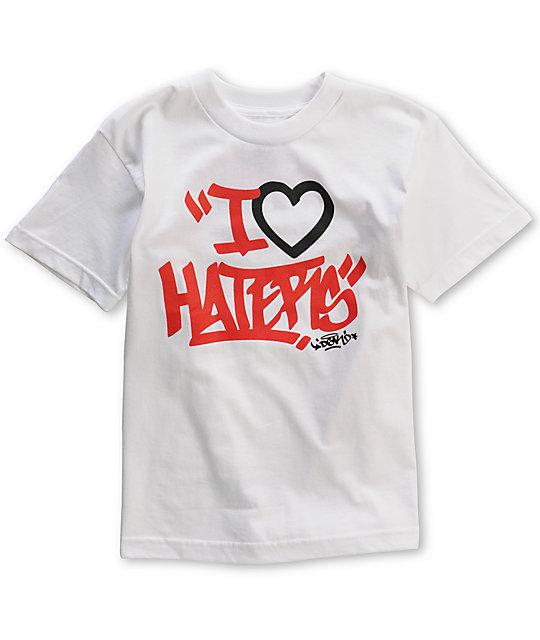 DGK Boys Tag Motivation White T-Shirt