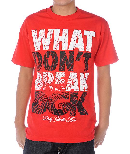 DGK Break Red T-Shirt