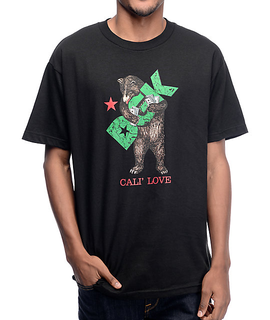 DGK Cali Love Black T-Shirt