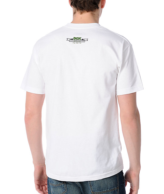 DGK Camo All Day White T-Shirt